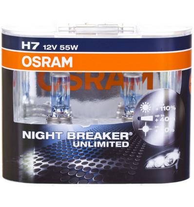 NIGHT BREAKER UNLIMITED 55W 12V PX26D HCB2BOX