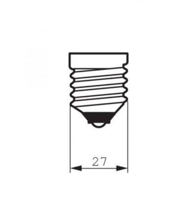 Classic LEDbulb Giant 6.5-40W E27 820 A160 gold Dim