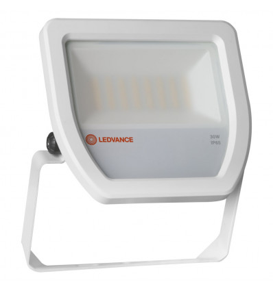 FLOOD LED 30W/3000K WT 100DEG IP65