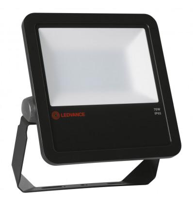 FLOOD LED 70W/4000K BK 100DEG SL IP65