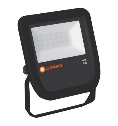 FLOODLIGHT LED 10W 3000K BK 100DEG IP65