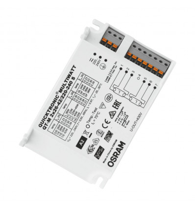 OSRAM QT-M 2X 26-42W/S 230-240V 50/60HZ